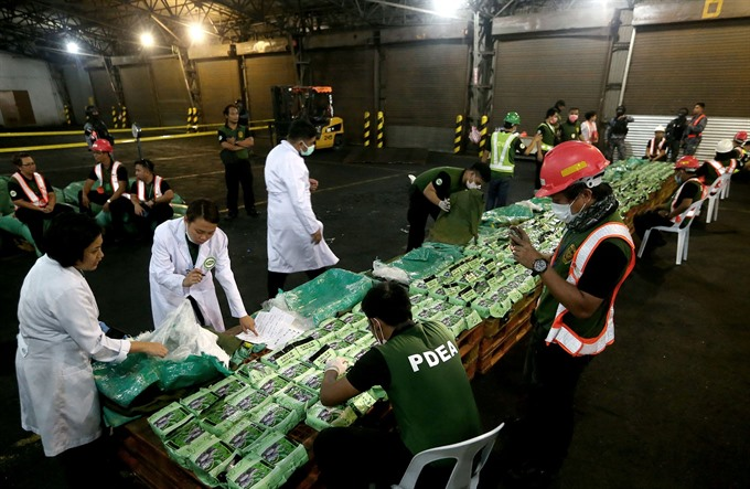 Vietnamese and Philippines police crack down on trans-national drug trafficking ring | # AsiaNewsNetwork